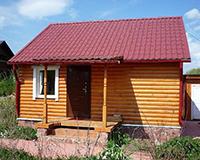 Металлочерепица для дачного дома