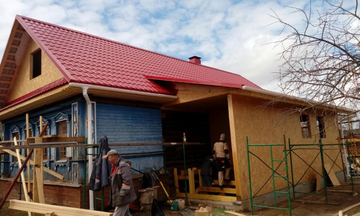 Пристройка к дому с двухскатной крышей фото перечень карт